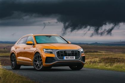 Buy Audi Q8 outright purchase cars