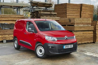 Citroen Berlingo Van M 650Kg 1.5 BlueHDi FWD 75PS Enterprise Van Manual