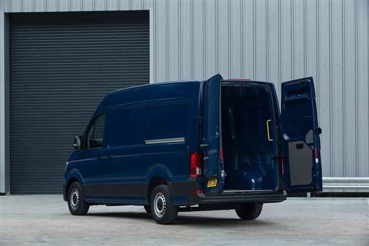 Volkswagen Crafter CR35LWB 4Motion 2.0 TDI 4WD 140PS Startline Chassis Cab Manual [Start Stop]